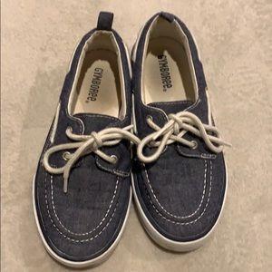 Boys Gymboree boat shoe
